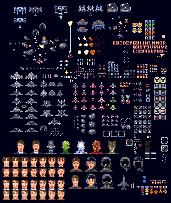 Creative commons pixel art